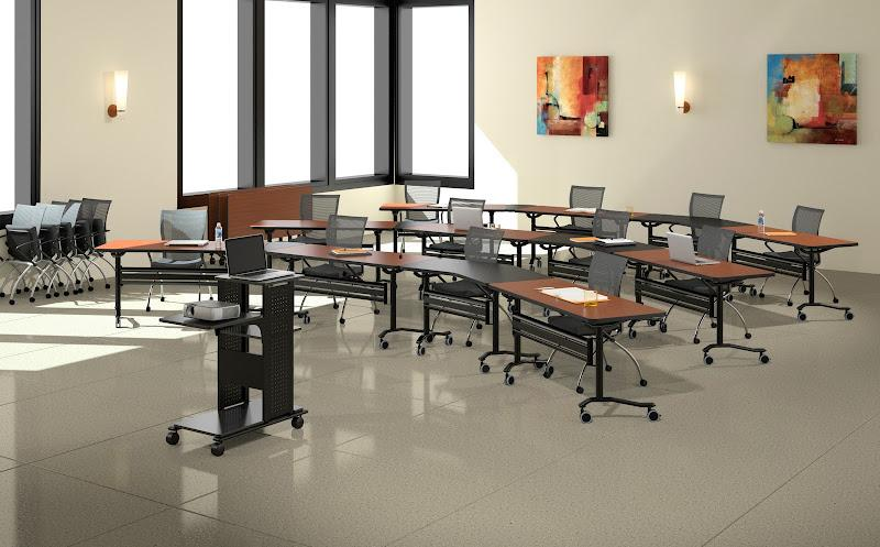 Training rooms office furniture resources for Training room design layout