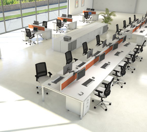 Benching Systems Atlanta GA Office Furniture ...